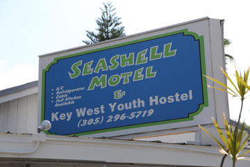 Welcome to the Seashell Motel and Youth Hostel